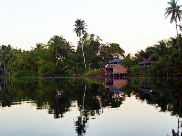 chi phat community based ecotourism river