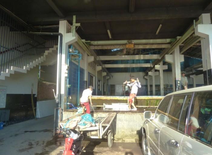 kampong cham habitant au travail