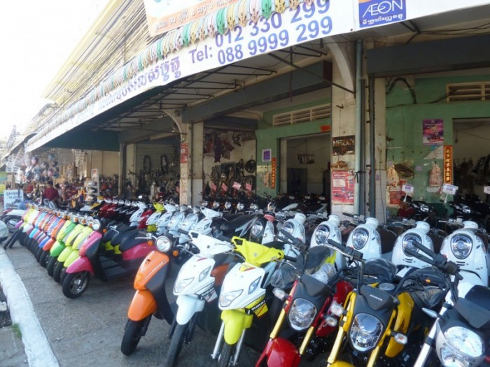 kampong cham scooter