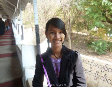 Jeune femme Birmane