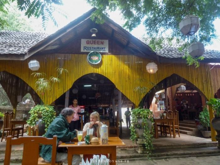 Le restaurant Queen à Bagan au Myanmar