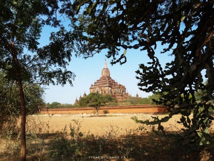 Un des nombreux Temples de Bagan au Myanmar